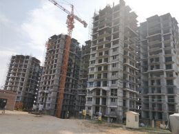 Primrose Towers under construction