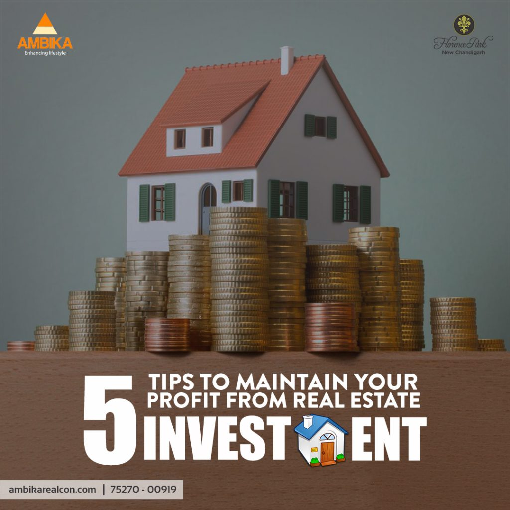 5 tips to maximise your profit from real estate investement