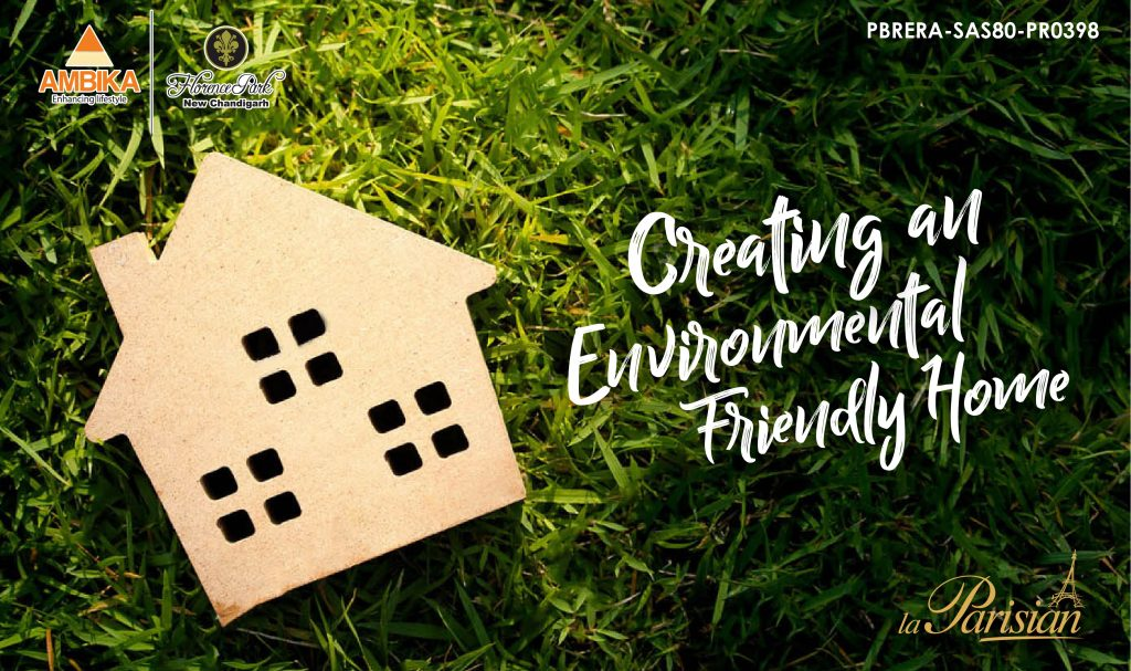 Creating an Environmental Friendly Home