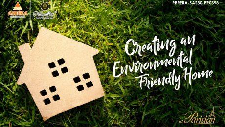 Creating an Environmental Friendly Home
