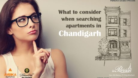 What to consider when searching apartments in Chandigarh