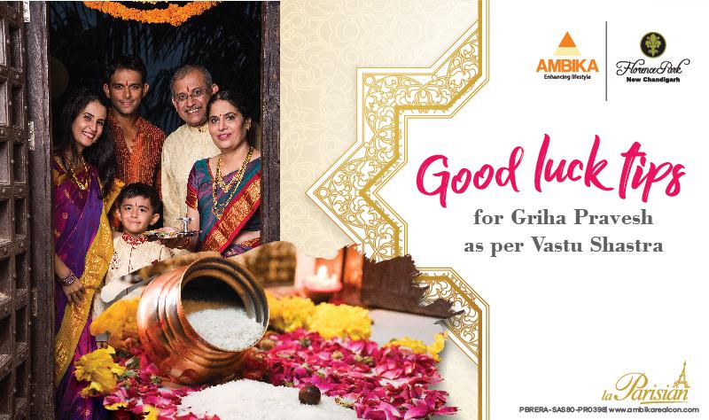 Good Luck Tips For Griha Pravesh as Per Vastu Shastra