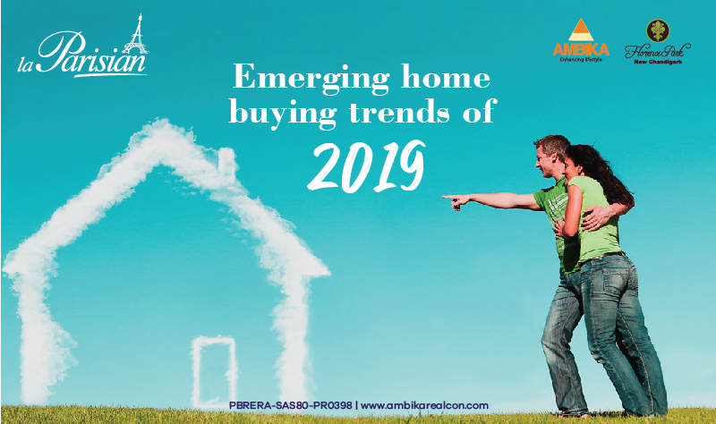 Emerging home buying trends of 2019