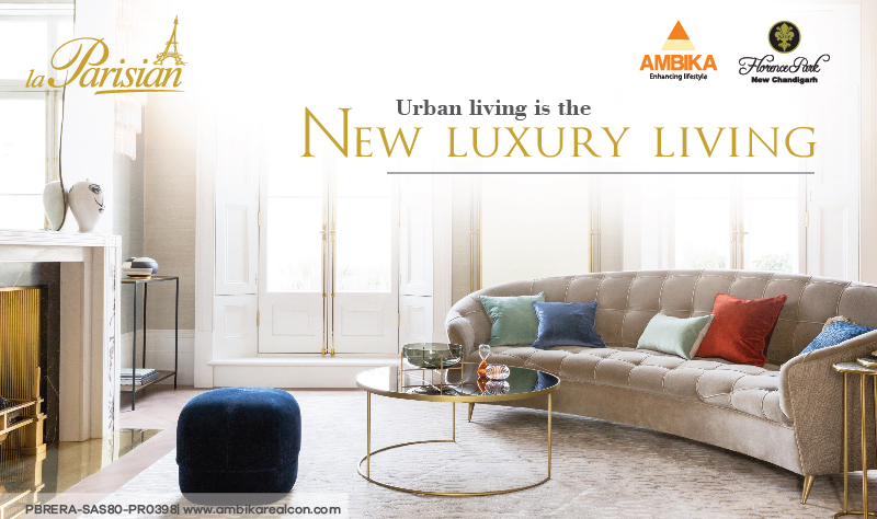 Urban living is the new Luxury Living