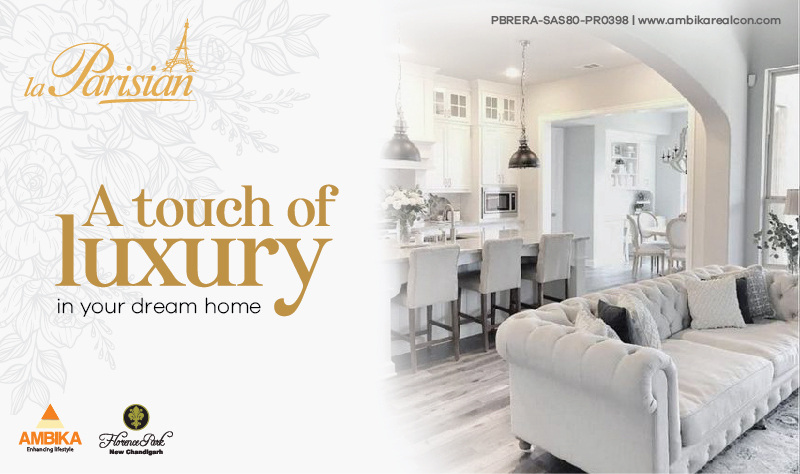 A Touch of Luxury in your Dream Home