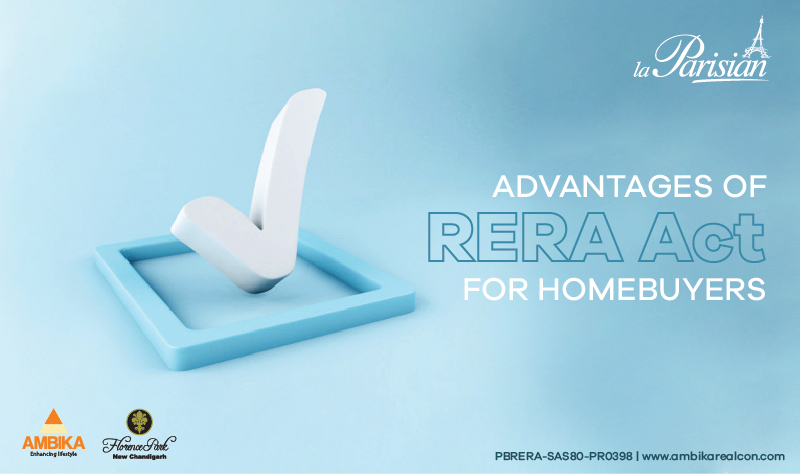 Advantages of RERA Act for Homebuyers