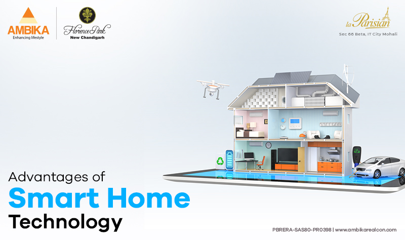 Advantages of Smart Home Technology